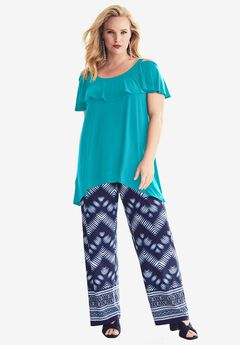 Travel Collection Cold Shoulder Top,