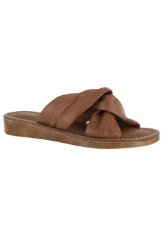 Noa-Italy Sandals by Bella Vita®, WHISKEY LEATHER