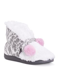 Dana Bootie Slipper by Muk Luks®,