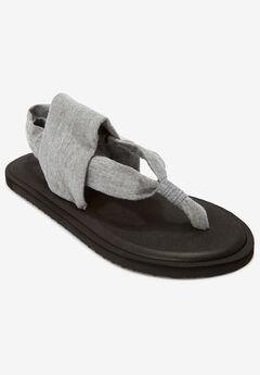 The Leni Sandal by Comfortview®, METALLIC GREY, hi-res