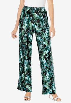 Ultrasmooth® Fabric Wide-Leg Pant,