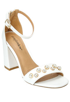 Roxy Sandals by Comfortview®, WHITE