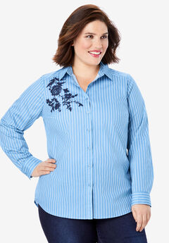 Embroidered Kate Shirt,