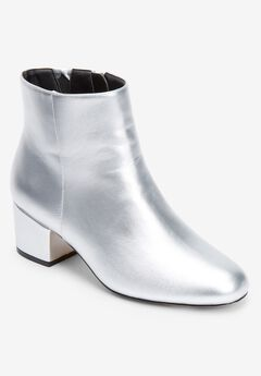 The Sidney Bootie by Comfortview®, SILVER