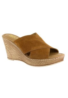 Edi-Italy Sandals by Bella Vita®, TOBACCO SUEDE, hi-res