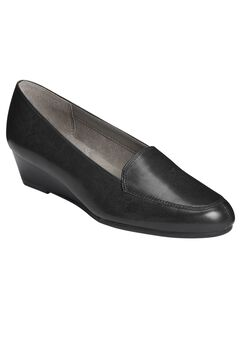 Lovely Loafers by Aerosoles®, BLACK LEATHER, hi-res