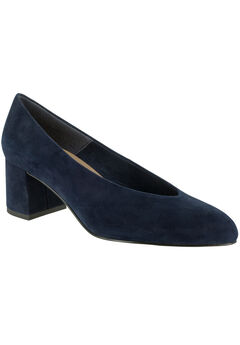 Jensen Pumps by Bella Vita®, NAVY SUEDE