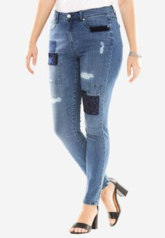 Velvet Patch Boyfriend Jean By Denim 24/7®,
