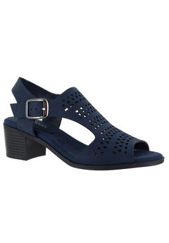 Clarity Sandals by Easy Street®, NAVY, hi-res