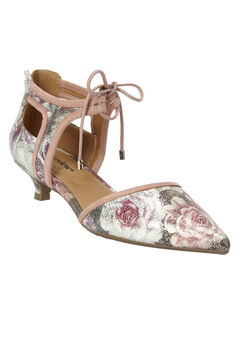Scarlett Pumps by Comfortview, FLORAL, hi-res