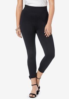 Performance Capri Legging, BLACK