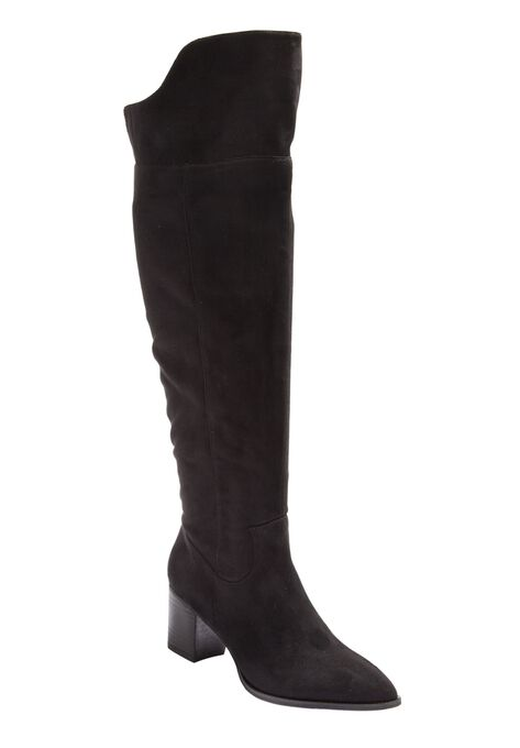 0a76896c0c5a The Jinal Wide Calf Boot by Comfortview®