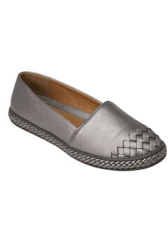 Arielle Flats by Comfortview®, GUNMETAL, hi-res