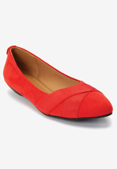 The Dona Flat by Comfortview®, NEW HOT RED