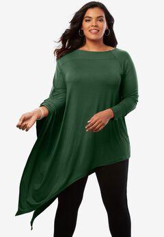 Asymmetric Ultra Femme Tunic,