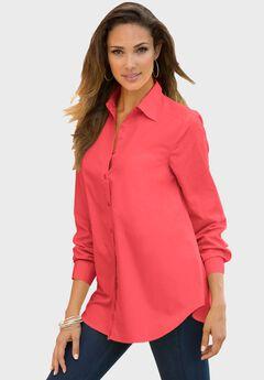 Long-Sleeve Kate Shirt, SOFT GERANIUM