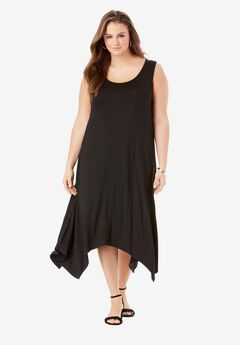 Sleeveless Swing Dress,