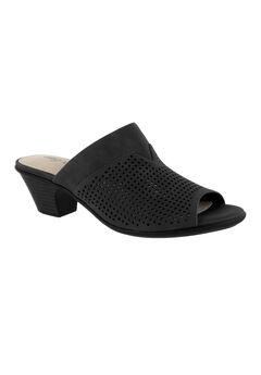 Posh Sandals by Easy Street®, BLACK, hi-res