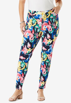 Everywhere Pant, NAVY FLORAL