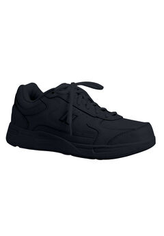 The 577 Leather Sneaker by New Balance®, BLACK