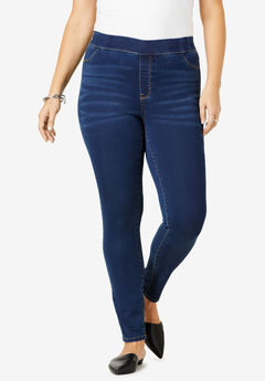The No-Gap Jegging by Denim 24/7®, DARK WASH