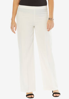 Bend Over® Wide-Leg Pant, WHITE