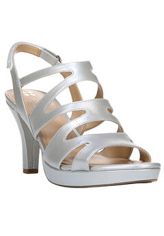 Pressley Sandal by Naturalizer®, SOFT SILVER, hi-res