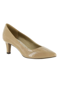 Pointe Pump by Easy Street®, NUDE PATENT, hi-res