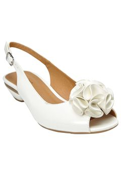 Del Pumps by Comfortview®, WHITE, hi-res