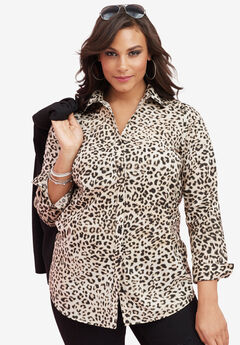 The Kate Shirt, ANIMAL PRINT, hi-res