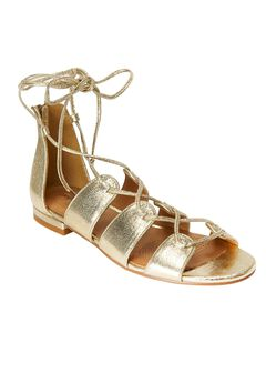 Wexi Sandals by Comfortview®, GOLD, hi-res
