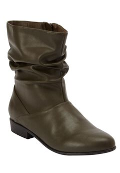 Madison Bootie by Comfortview®, OLIVE, hi-res