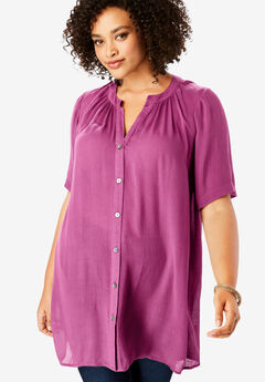 Angelina Tunic, RASPBERRY