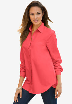 Long-Sleeve Kate Shirt, SOFT GERANIUM