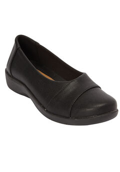 The Gab Flat by Comfortview®, BLACK