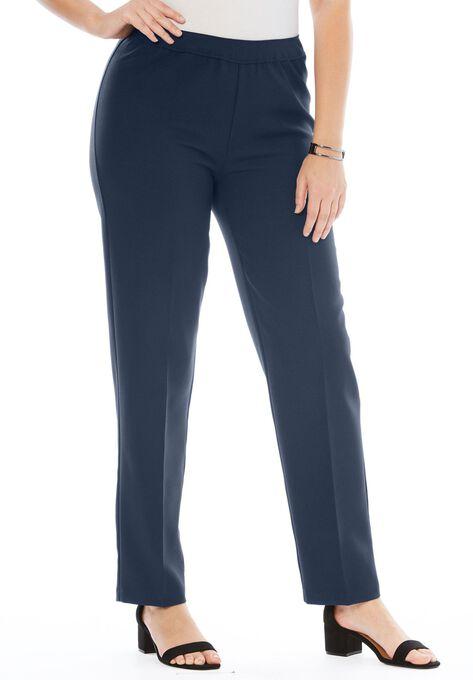 Bend Over Classic Pant Plus Size Pants Roamans