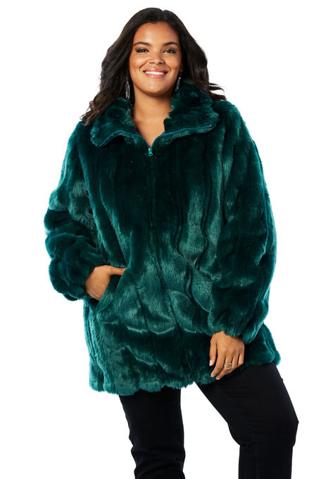 6e99f613c1f Short Faux-Fur Coat