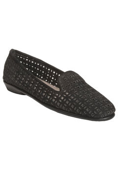 You Betcha Flat by Aerosoles®, BLACK NUBUCK