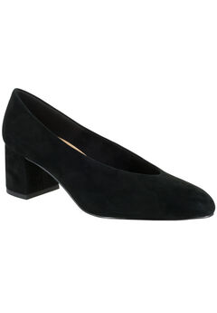 Jensen Pumps by Bella Vita®, BLACK SUEDE