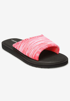 The Ive Soft Footbed Sandal by Comfortview®,
