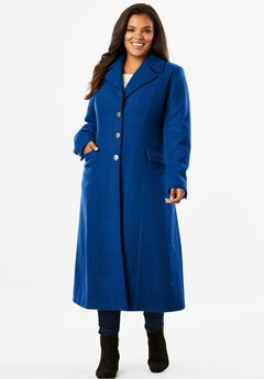 Long Wool Coat,
