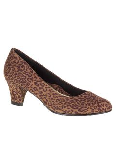 Gail Pumps by Soft Style, TAN LEOPARD, hi-res