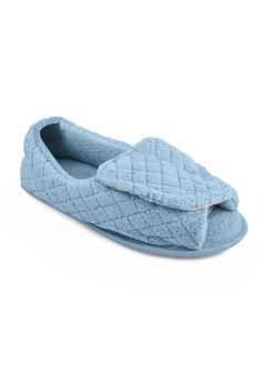 Micro Chenille Adjustable Slipper by Muk Luks®,