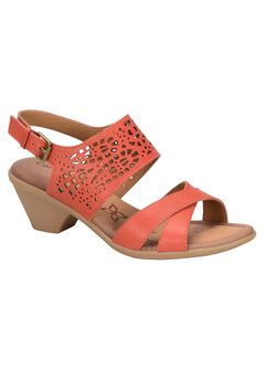 Faith Sandals by Comfortiva®, RED TANGERINE, hi-res