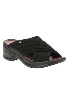 Knockout Sandals by BZees®, BLACK, hi-res