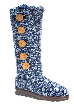 Malena Boot by Muk Luks®, NAVY, hi-res