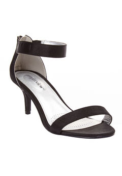 The Stevie Sandal by Comfortview®, BLACK, hi-res