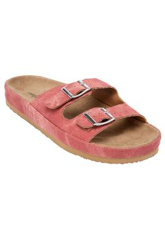 Maxi Footbed Sandal by Comfortview®, COPPER