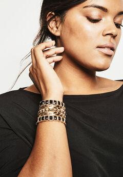 Jeweled Studded Bracelet,