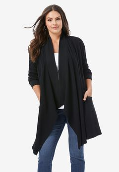 Thermal Flyaway Cardigan,